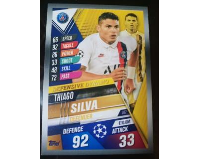 Match Attax 101 2019/2020 THIAGO SILVA Defensive Dynamo 2