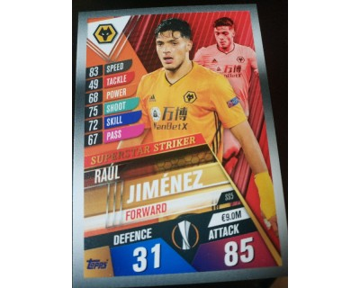 Match Attax 101 2019/2020 JIMENEZ SUPERSTAR STRIKER 5