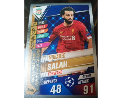 Match Attax 101 2019/2020 SALAH COLLECTORS TEAM 11