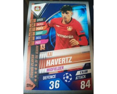 Match Attax 101 2019/2020 HAVERTZ YOUNG PLAYER 3