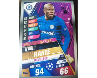 Match Attax 101 2019/2020 KANTE MIDFIELD MASTER 2