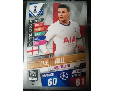 Match Attax 101 2019/2020 DELE ALLI CLUB HERO 4