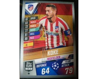 Match Attax 101 2019/2020 KOKE CLUB HERO 6