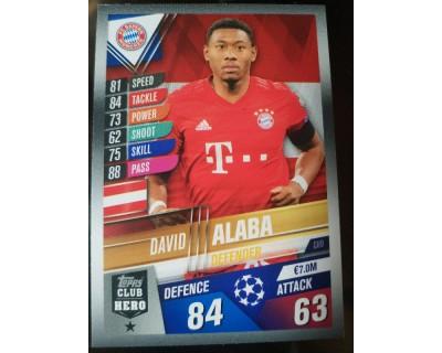 Match Attax 101 2019/2020 ALABA CLUB HERO 9
