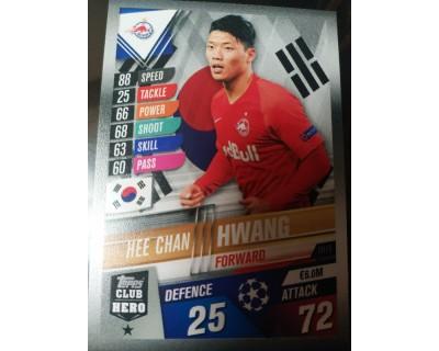 Match Attax 101 2019/2020 HWANG CLUB HERO 19