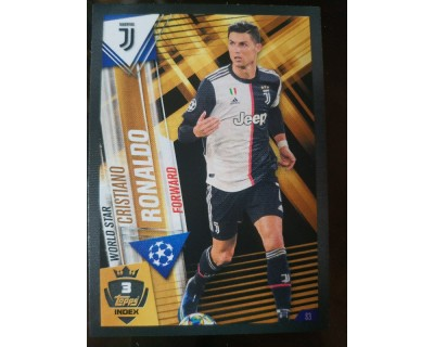 Match Attax 101 2019/2020 CRISTIANO RONALDO WORLD STAR 3