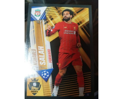 Match Attax 101 2019/2020 SALAH WORLD STAR 6
