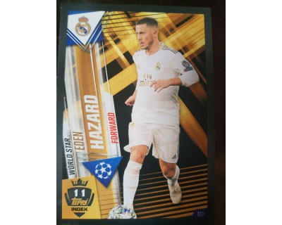 Match Attax 101 2019/2020 HAZARD WORLD STAR 11