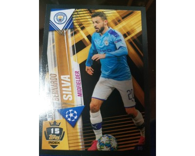 Match Attax 101 2019/2020 BERNARDO SILVA WORLD STAR 15