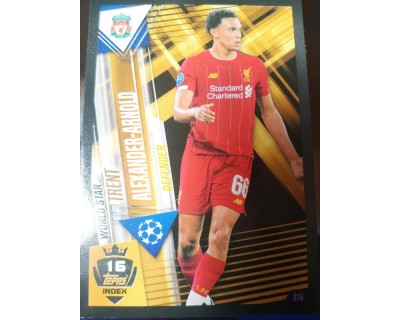 Match Attax 101 2019/2020 ALEXANDER-ARNOLD WORLD STAR 16