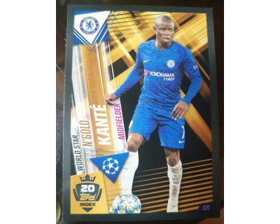 Match Attax 101 2019/2020 KANTE WORLD STAR 20