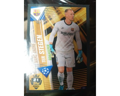 Match Attax 101 2019/2020 TER STEGEN WORLD STAR 21