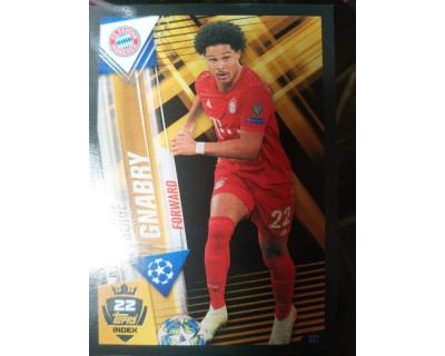 Match Attax 101 2019/2020 GNABRY WORLD STAR 22
