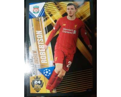 Match Attax 101 2019/2020 ROBERTSON WORLD STAR 24