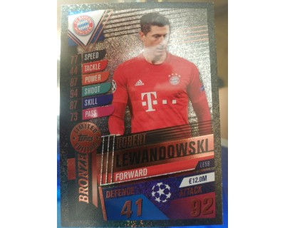 Match Attax 101 2019/2020 LEANDOWSKI BRONZE LIMITED EDITION