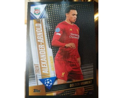 Match Attax 101 2019/2020 ALEXANDER-ARNOLD GOLDEN MOMENT 31