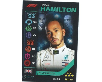 Turbo Attax LEWIS HAMILTON N 95