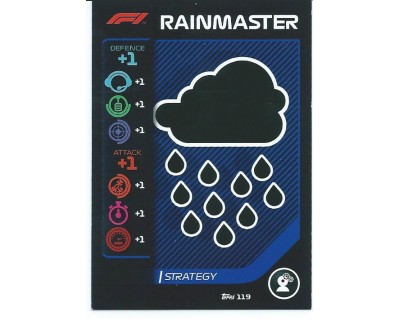 Turbo Attax RAINMASTER N 119