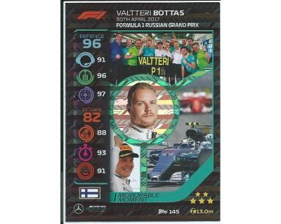 Turbo Attax VALTTERI BOTTAS N 145