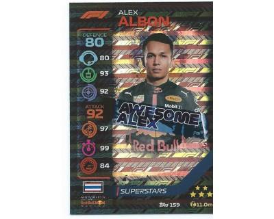 Turbo Attax ALEX ALBON N 159