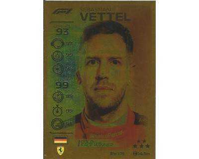 Turbo Attax SEBASTIAN VETTEL N 175