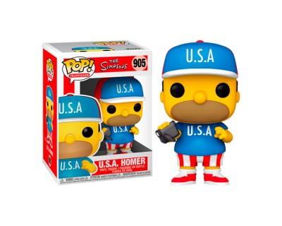 Funko POP! THE SIMPSONS - U.S.A. HOMER 905