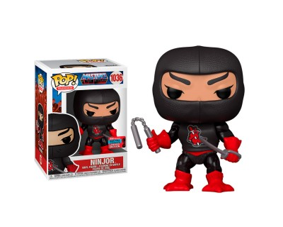 FUNKO POP! MASTERS OF THE UNIVERSE - NINJOR 1036 2020 FALL CONVECTION