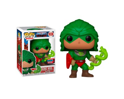 FUNKO POP! MASTERS OF THE UNIVERSE - KING HISS 1038 2020 FALL CONVECTION