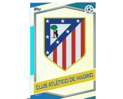 MATCH ATTAX U.C.LEAGUE 2016/2017 ATLETICO DE MADRID Nº 1 ESCUDO