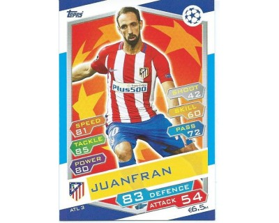 MATCH ATTAX U.C.LEAGUE 2016/2017 ATLETICO DE MADRID Nº 3