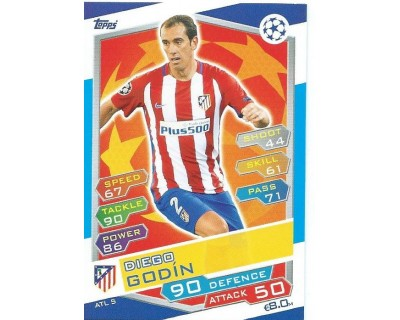 MATCH ATTAX U.C.LEAGUE 2016/2017 ATLETICO DE MADRID Nº 5