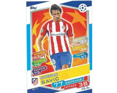 MATCH ATTAX U.C.LEAGUE 2016/2017 ATLETICO DE MADRID Nº 7