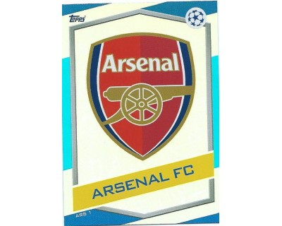 MATCH ATTAX U.C.LEAGUE 2016/2017 ARSENAL FC Nº 1 ESCUDO