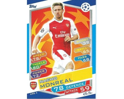 MATCH ATTAX U.C.LEAGUE 2016/2017 ARSENAL FC Nº 4
