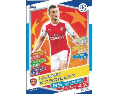 MATCH ATTAX U.C.LEAGUE 2016/2017 ARSENAL FC Nº 5