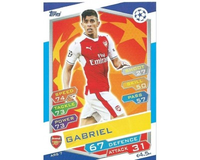 MATCH ATTAX U.C.LEAGUE 2016/2017 ARSENAL FC Nº 7
