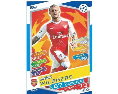 MATCH ATTAX U.C.LEAGUE 2016/2017 ARSENAL FC Nº 8