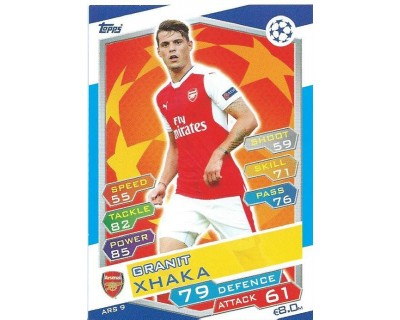 MATCH ATTAX U.C.LEAGUE 2016/2017 ARSENAL FC Nº 9