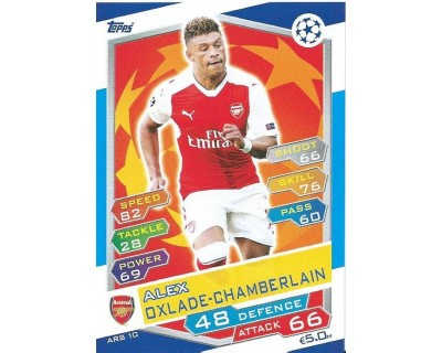 MATCH ATTAX U.C.LEAGUE 2016/2017 ARSENAL FC Nº 10