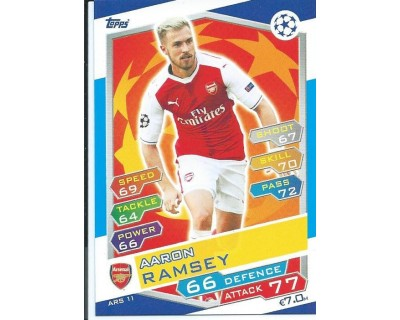 MATCH ATTAX U.C.LEAGUE 2016/2017 ARSENAL FC Nº 11