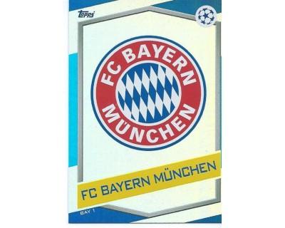 MATCH ATTAX U.C.LEAGUE 2016/2017 FC BAYERN MÜNCHEN Nº 1 ESCUDO