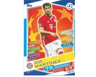 MATCH ATTAX U.C.LEAGUE 2016/2017 FC BAYERN MÜNCHEN Nº 7