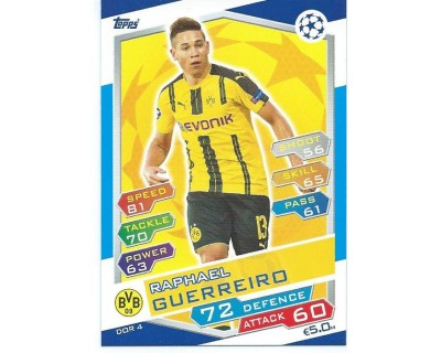MATCH ATTAX U.C.LEAGUE 2016/2017 BORUSSIA DORTMUND Nº 4