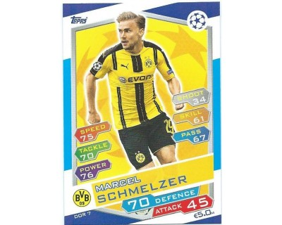 MATCH ATTAX U.C.LEAGUE 2016/2017 BORUSSIA DORTMUND Nº 7