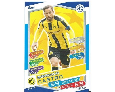 MATCH ATTAX U.C.LEAGUE 2016/2017 BORUSSIA DORTMUND Nº 10