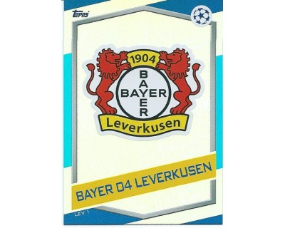 MATCH ATTAX U.C.LEAGUE 2016/2017 BAYER 04 LEVERKUSEN Nº 1 ESCUDO