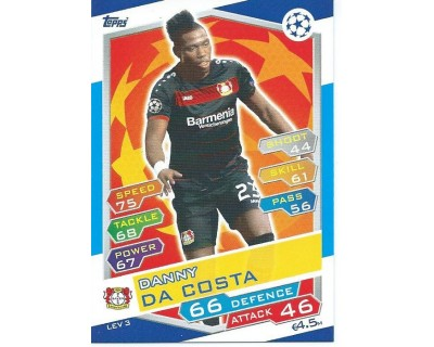 MATCH ATTAX U.C.LEAGUE 2016/2017 BAYER 04 LEVERKUSEN Nº 3
