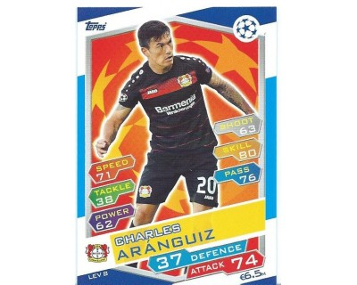 MATCH ATTAX U.C.LEAGUE 2016/2017 BAYER 04 LEVERKUSEN Nº 8