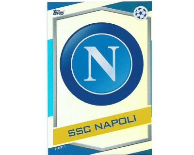MATCH ATTAX U.C.LEAGUE 2016/2017 SSC NAPOLI Nº 1 ESCUDO