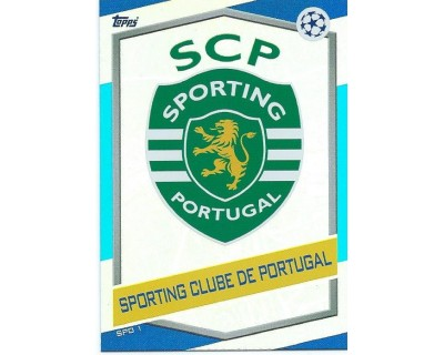 MATCH ATTAX U.C.LEAGUE 2016/2017 SPORTING CLUBE DE PORTUGAL Nº 1 ESCUDO